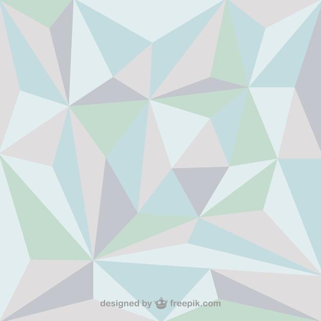 Fondo Con Formas De Triángulos De Colores Suaves Descargar