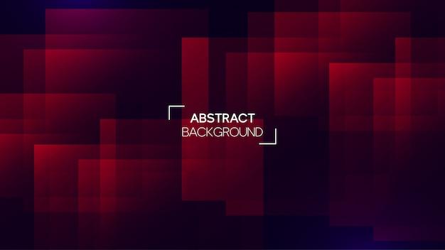 Fondo futurista geométrico abstracto Vector Premium