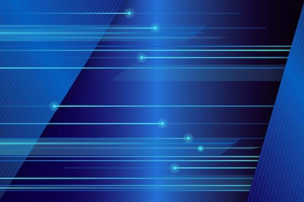 Fondo futurista de líneas de alta velocidad vector gratuito