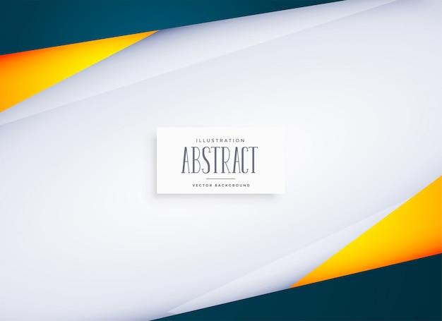 Fondo geométrico abstracto con espacio de texto vector gratuito