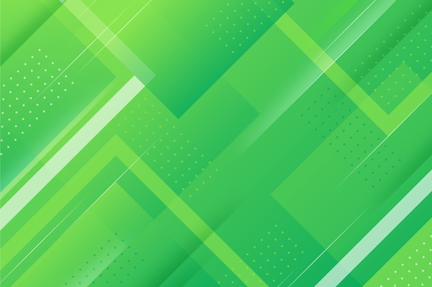 Fondo geométrico abstracto verde vector gratuito