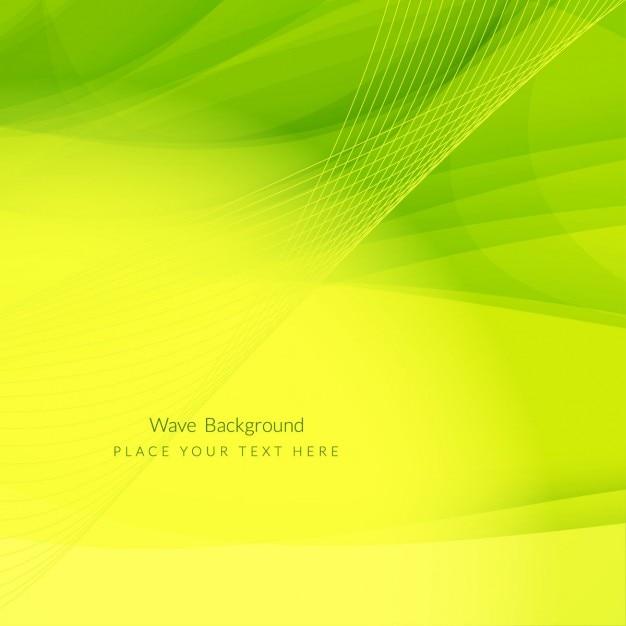 Fondo Geométrico Amarillo Y Verde