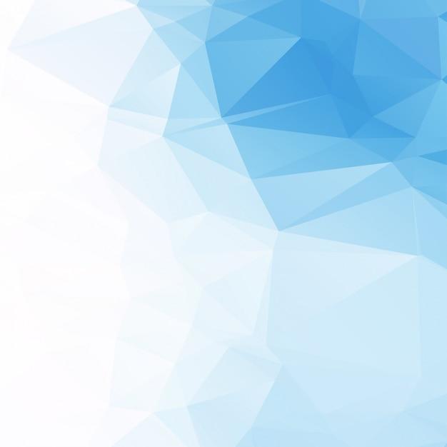 Fondo Geométrico Azul Claro
