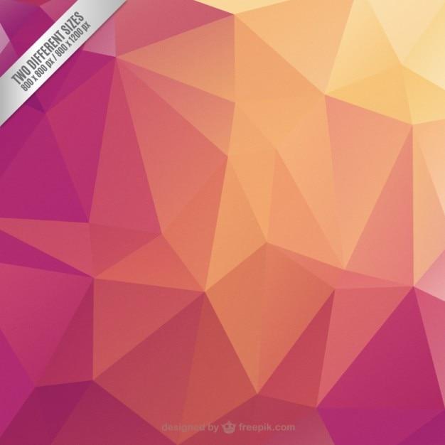 Fondo geom trico con colores c lidos descargar vectores - Imagenes de colores calidos ...