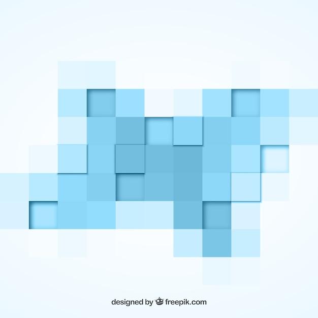 Fondo geom trico con cuadros azules descargar vectores for Cuadros con formas geometricas