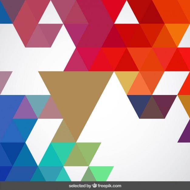Fondo geom trico de colores vivos descargar vectores gratis for Marmol translucido de colores vivos