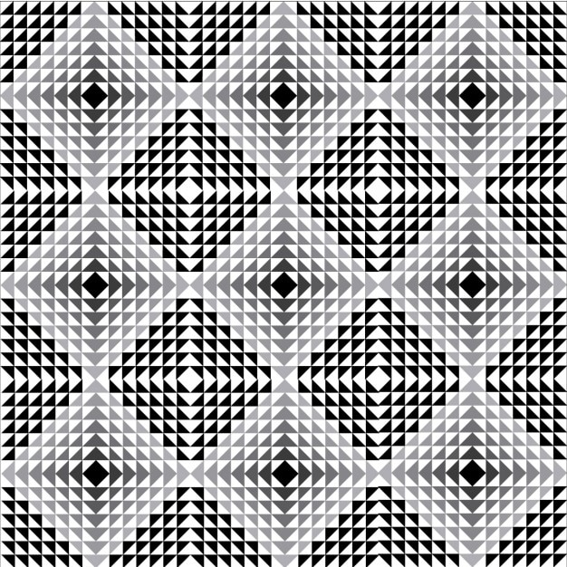 fondo geomtrico en escala de grises vector gratis