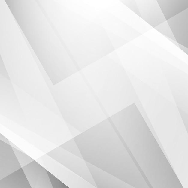 Fondo geométrico gris vector gratuito