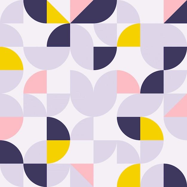Fondo geométrico moderno abstracto Vector Premium