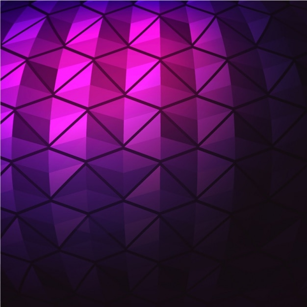 Fondo geométrico morado con líneas negras   Descargar Vectores Premium