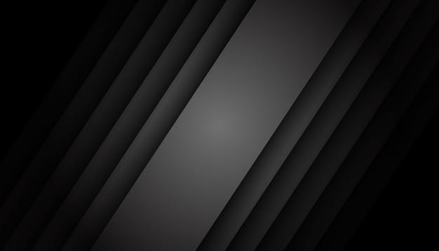 Fondo geométrico oscuro vector gratuito