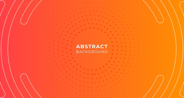 Fondo de gradación de punto de círculo abstracto Vector Premium
