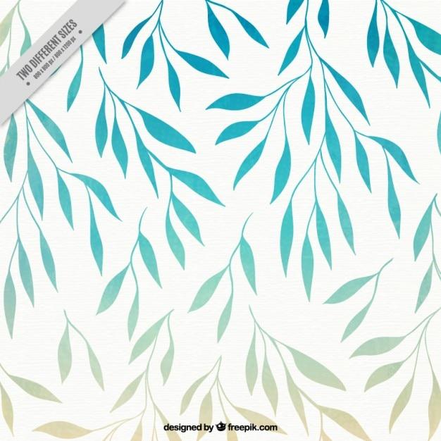 Fondo de hojas de primavera | Descargar Vectores gratis
