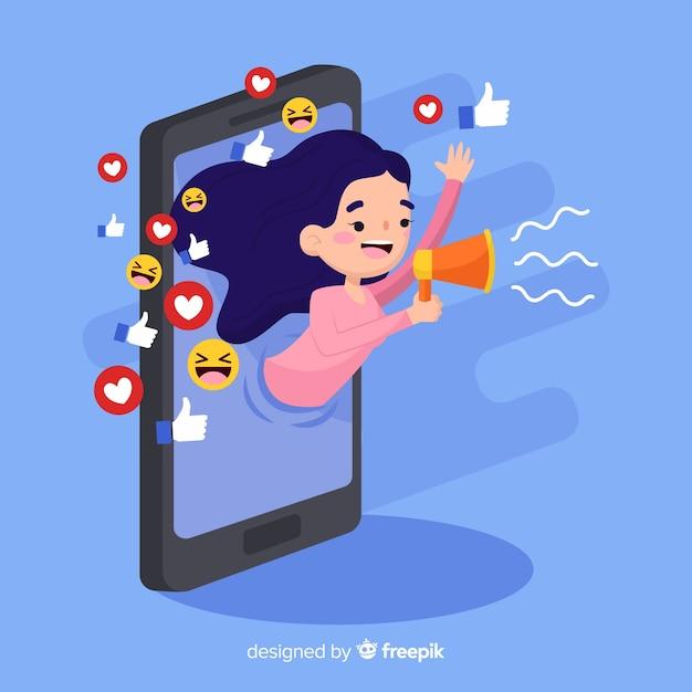 publicar en redes sociales publico objetivo