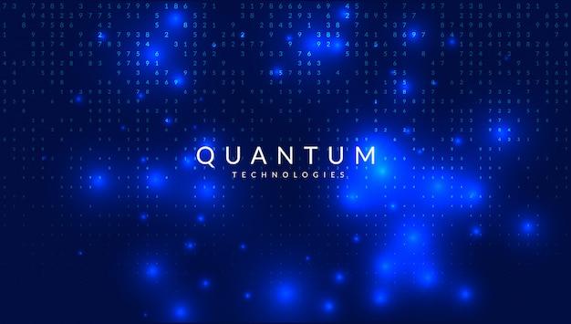 Fondo de inteligencia artificial. Vector Premium