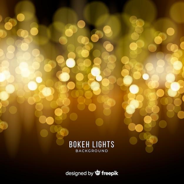 Fondo de luces vector gratuito