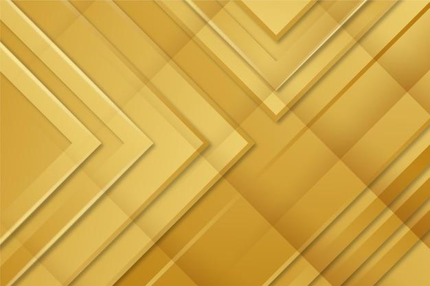 Fondo de lujo dorado vector gratuito
