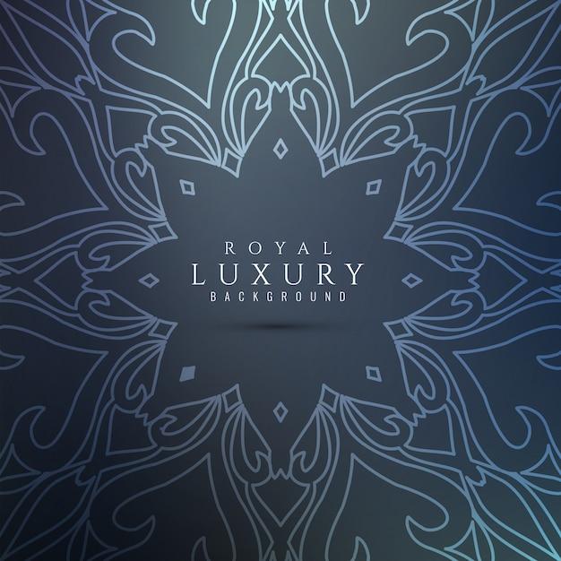 Fondo de lujo con estilo abstracto vector gratuito