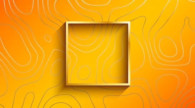 Fondo de lujo line art Vector Premium