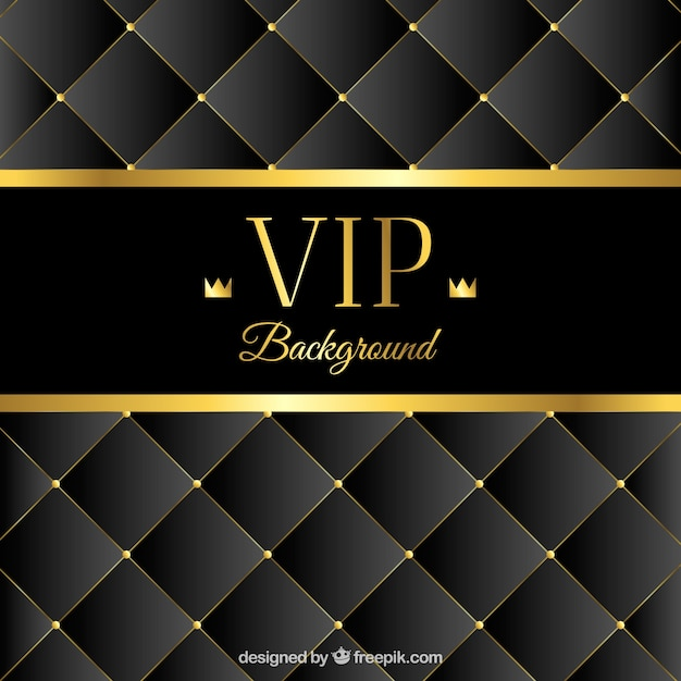 Fondo lujoso acolchado vip | Descargar Vectores gratis