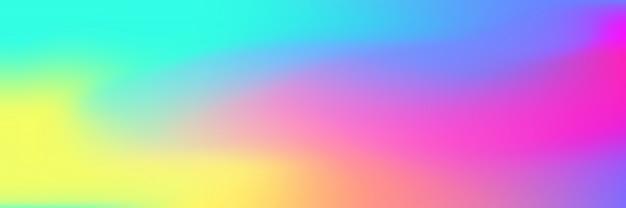 Fondo de malla de degradado brillante multicolor Vector Premium
