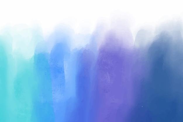Fondo de manchas de acuarela azul vector gratuito