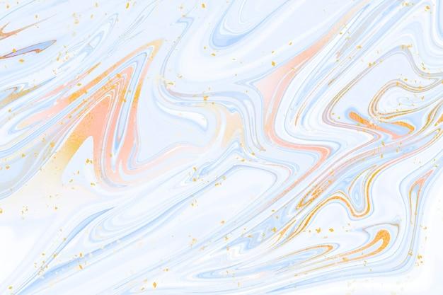 Fondo de mármol líquido con textura dorada brillante vector gratuito