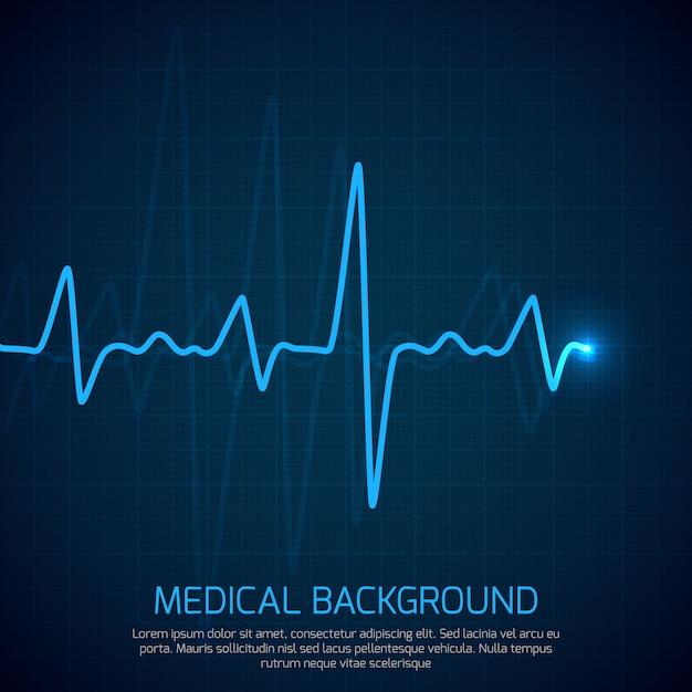 Fondo médico de vector de salud Vector Premium