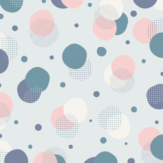 Fondo minimalista abstracto de las ilustraciones del diseño del modelo geométrico del color. Vector Premium