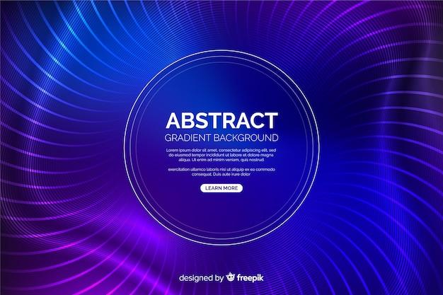 Fondo moderno de círculos azules y púrpuras vector gratuito