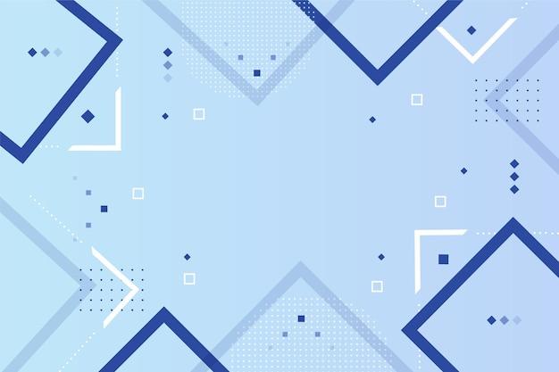 Fondo moderno con formas abstractas vector gratuito