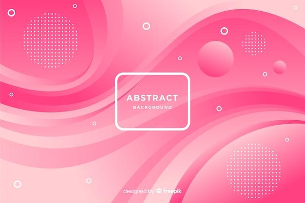 Fondo moderno de formas abstractas vector gratuito