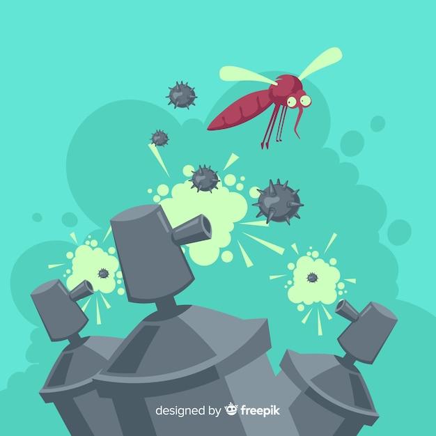 Fondo de mosquito control vector gratuito