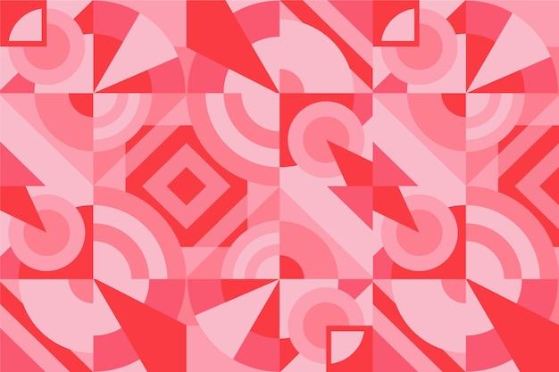 Fondo mural geométrico vector gratuito