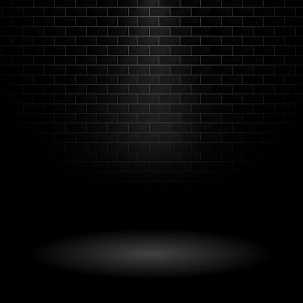 Fondo de muro oscuro vector gratuito