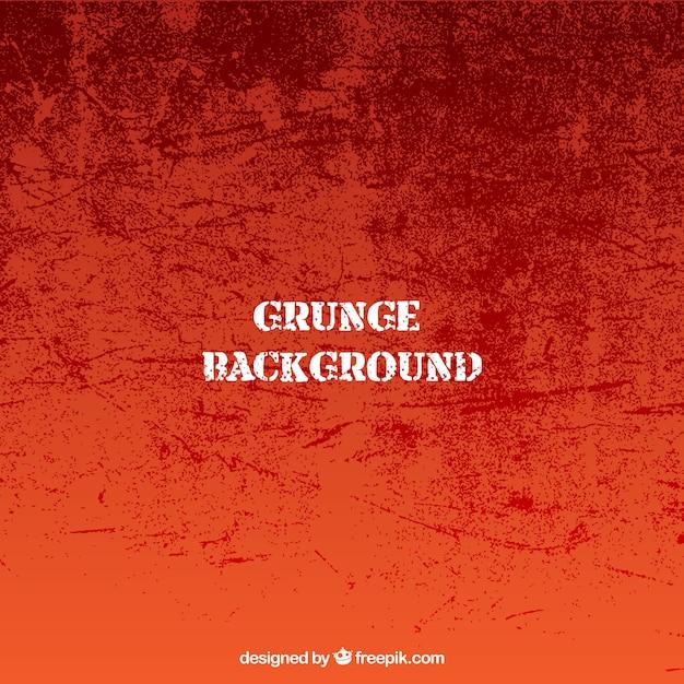 Fondo naranja grunge  Vector Gratis