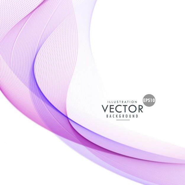 Fondo ondulado violeta   Descargar Vectores gratis