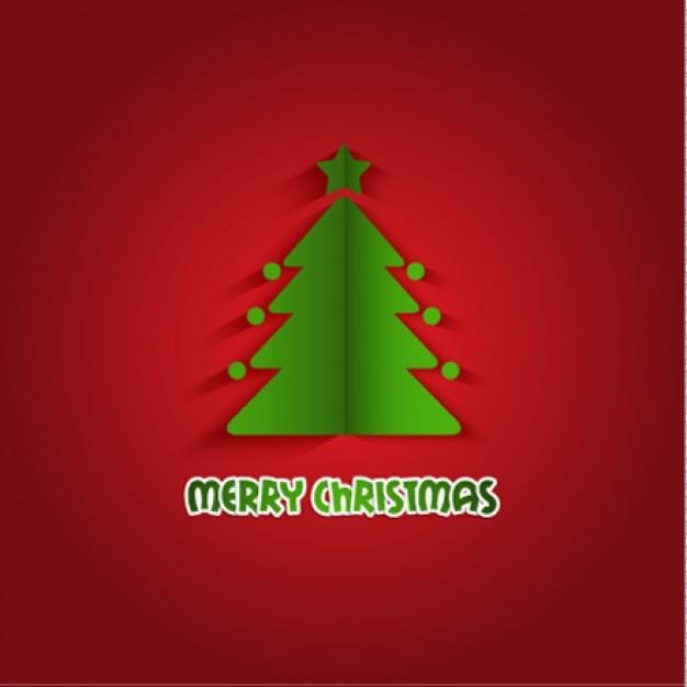 Fondo origami de rbol de navidad descargar vectores gratis - Arbol de navidad origami ...