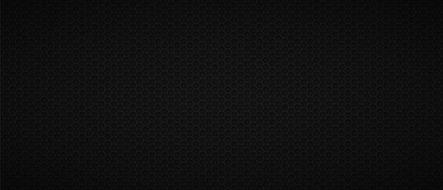 Fondo oscuro industrial del panal Vector Premium