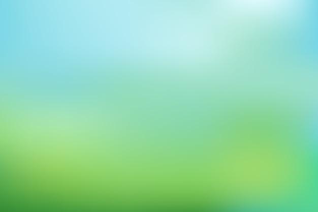 Fondo de pantalla degradado en tonos verdes vector gratuito