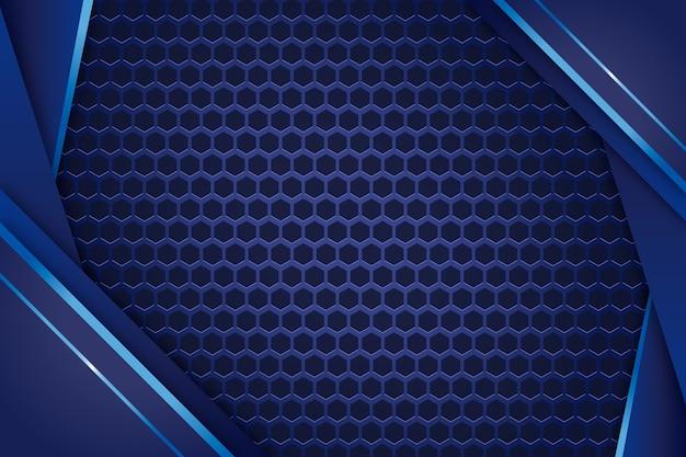 Fondo de pantalla de formas geométricas elegantes realistas vector gratuito