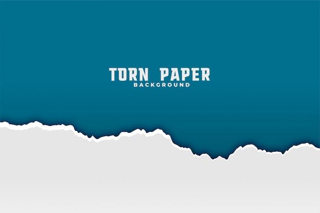 Fondo de papel rasgado rasgado vector gratuito