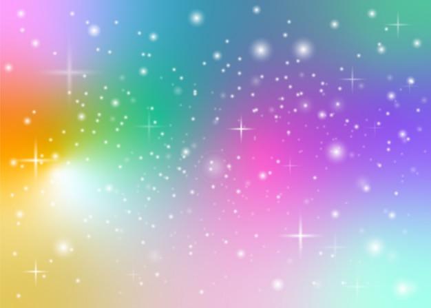 Fondo pastel arcoiris Vector Premium