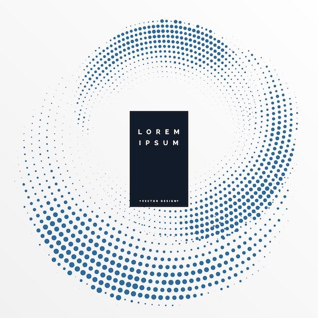 Fondo de patrón de diseño circular de semitonos | Descargar Vectores ...
