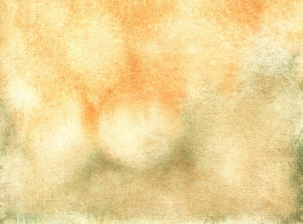 Fondo pintado a mano acuarela pastel abstracto Vector Premium