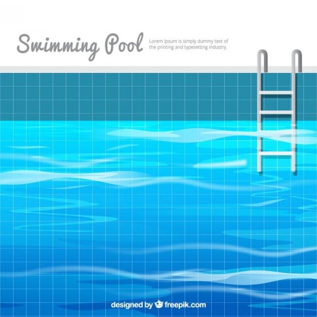 Fondo de piscina en dise o plano descargar vectores gratis for Diseno grafico de piscina olimpica