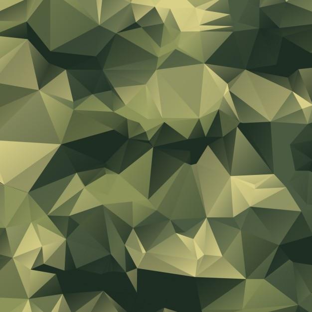 Fondo poligonal de camuflaje vector gratuito