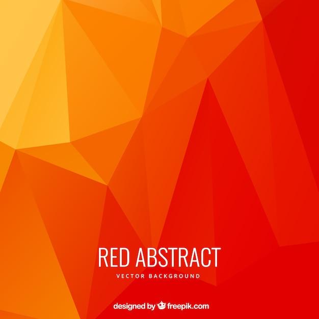 Fondo de polígonos abstractos en tonos rojos  6a0f53f19262