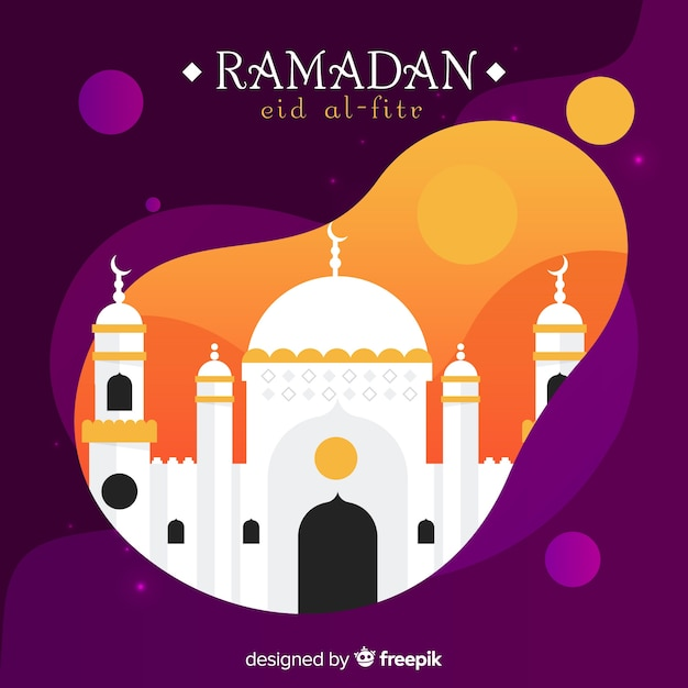Fondo de ramadán vector gratuito