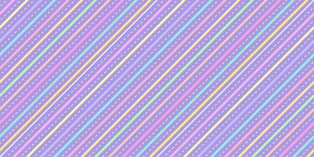 Fondo de rayas diagonales en colores pastel vector gratuito